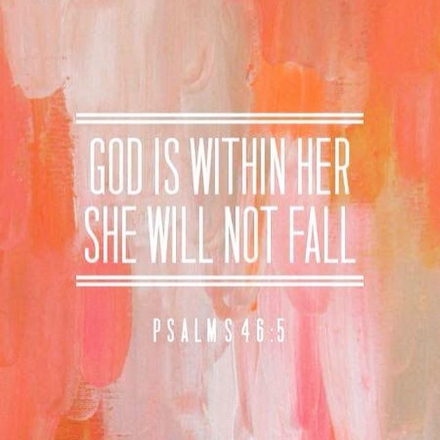 God said it and I believe it! Ladies, it is written